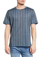 Robert Graham Philippe Dressy Stripe T-Shirt