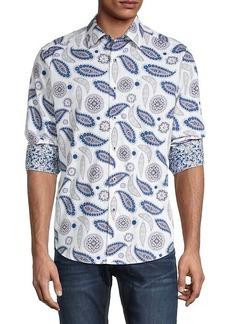 Robert Graham Pinehill Paisley-Print Shirt