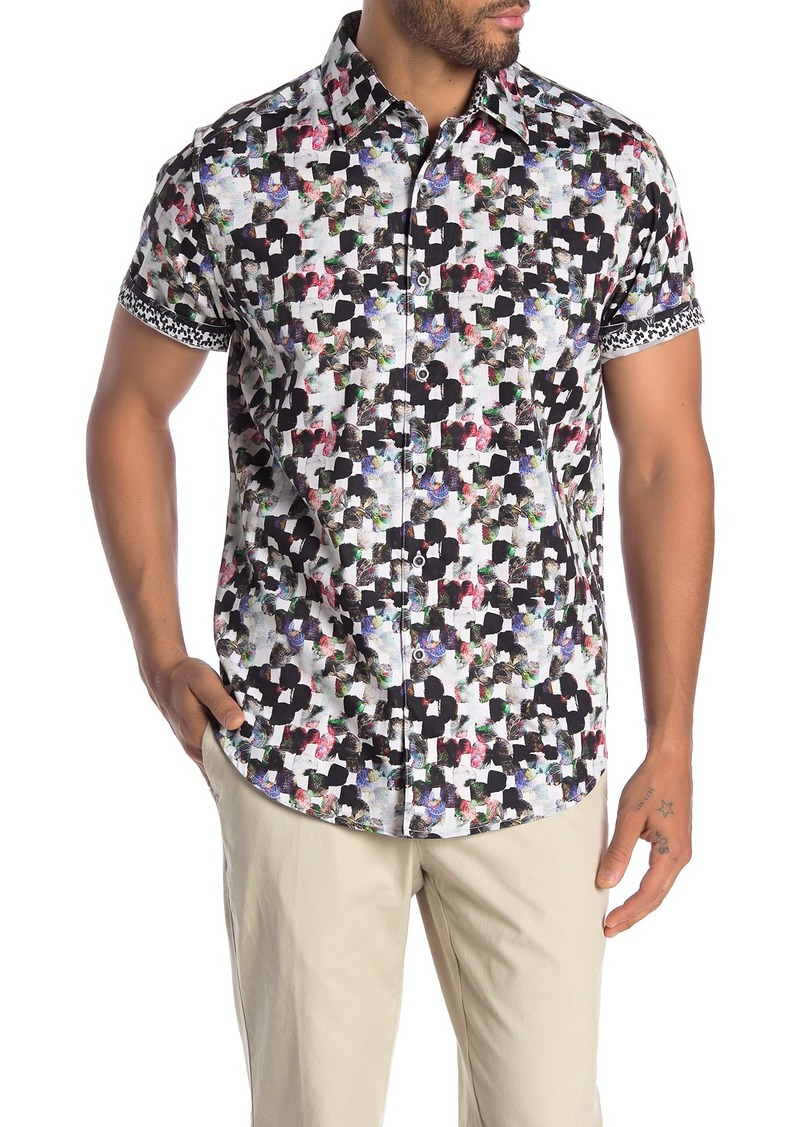 Robert Graham Powelldale Short Sleeve Classic Fit Shirt