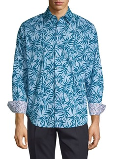 Robert Graham Printed Button-Down Shirt