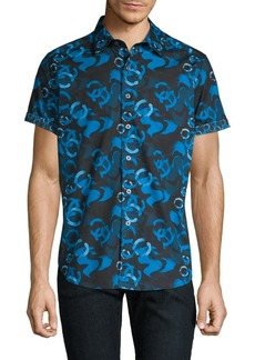 Robert Graham Printed Button-Down Shirt