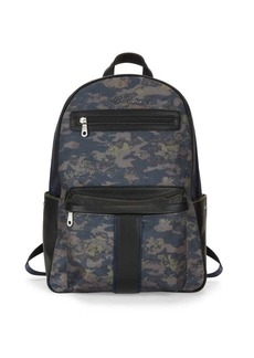 Robert Graham Printed Logo Backpack
