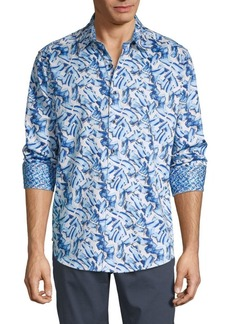 Robert Graham Printed Long-Sleeve Shirt