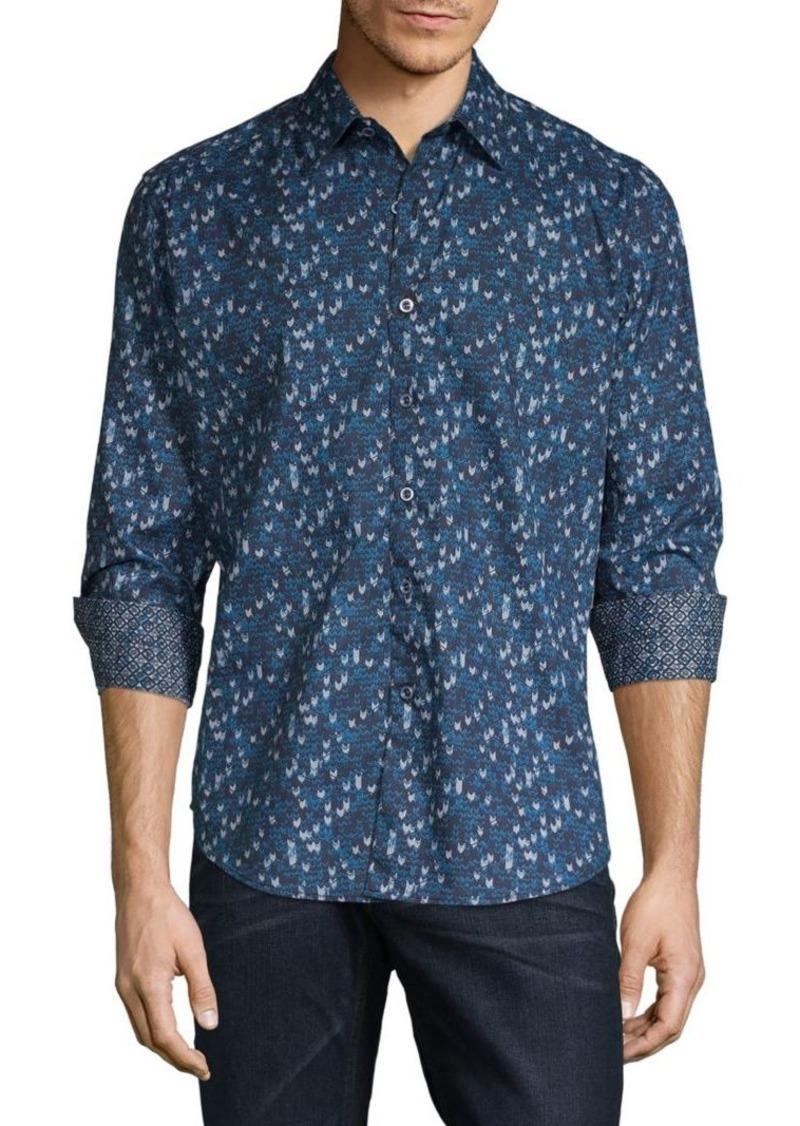 Robert Graham Printed Long-Sleeve Shirt