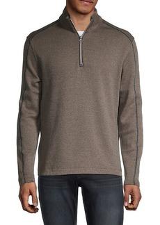 Robert Graham Quarter-Zip Cotton Jacket