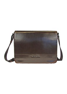 Robert Graham Rallis Pull-Up Leather Messenger Bag