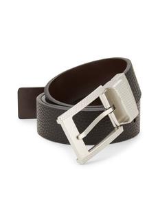 Robert Graham Reversible Faux Leather Belt