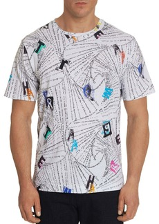 Robert Graham Abstract Print Tee
