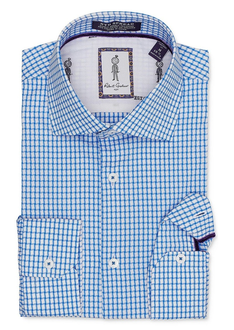 Robert Graham Acton Checked Regular Fit Dress Shirt