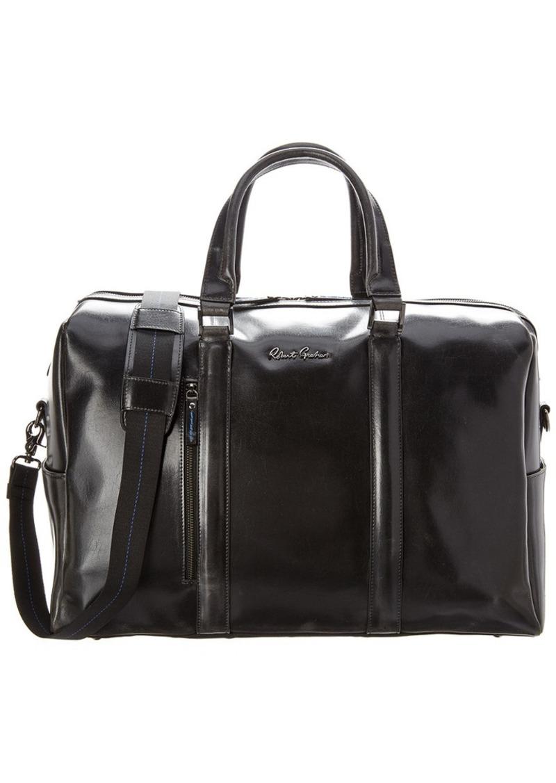 Robert Graham Aegean Leather Duffel Bag