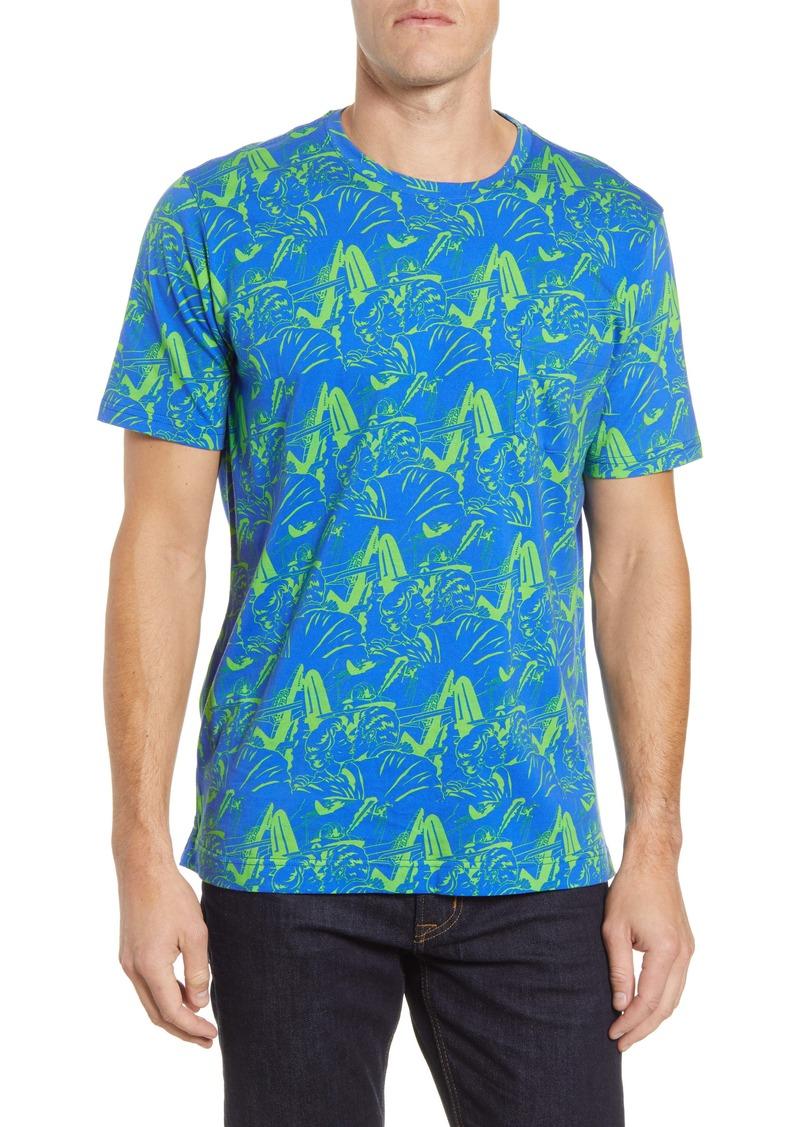 Robert Graham Aerobatics Pocket T-Shirt