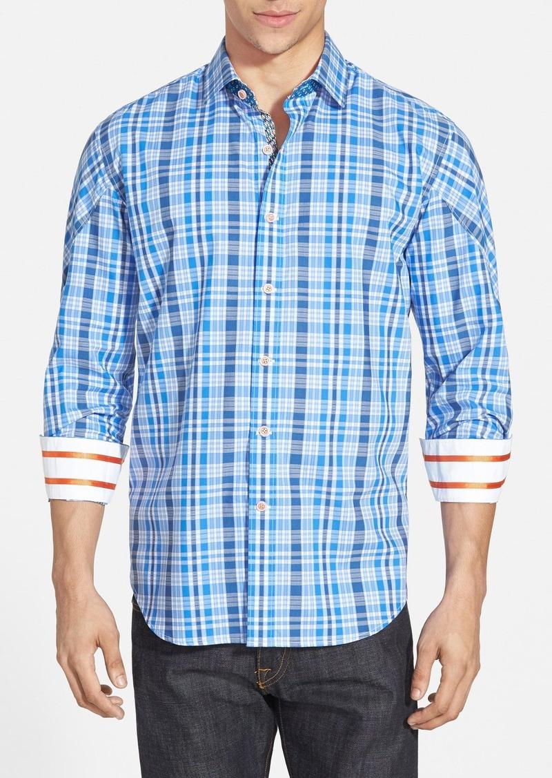 Robert graham robert graham 39 agate 39 tailored fit sport for Robert graham sport shirt
