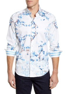 Robert Graham Aiden Classic Fit Button-Up Sport Shirt