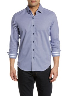 Robert Graham Alabaster Tailored Fit Sport Shirt