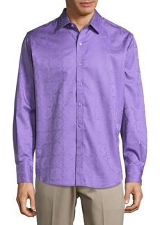 Robert Graham Aldersgate Cotton Button-Down Shirt