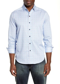 Robert Graham Alderson Regular Fit Button-Up Sport Shirt