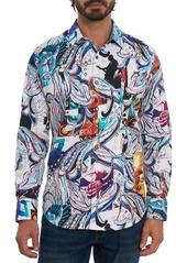 Robert Graham All The Noise Embroidered Sport Shirt