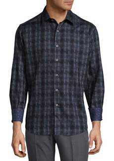 Robert Graham Anatalya Cotton Casual Button-Down Shirt