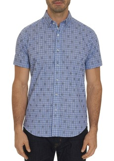 Robert Graham Angelfish Plaid Short-Sleeve Classic Fit Shirt