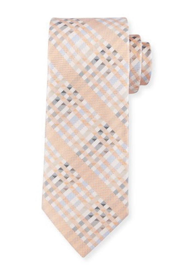 Robert Graham Angy Plaid Silk Tie