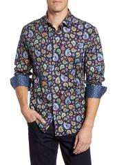 Robert Graham Animal Classic Fit Button-Up Sport Shirt