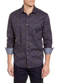 Robert Graham Arcade Classic Fit Button-Up Sport Shirt