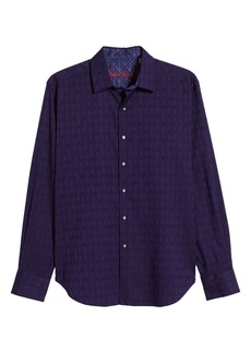 Robert Graham Atlas Regular Fit Button-Up Sport Shirt