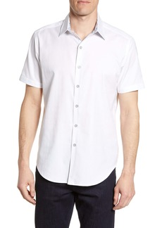Robert Graham Atlas Regular Fit Jacquard Sport Shirt