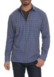 Robert Graham Auburn Check Shirt Jacket