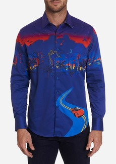 Robert Graham Autodromo Embroidered Sport Shirt