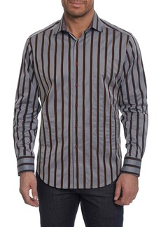 Robert Graham Baltica Classic Fit Stripe Sport Shirt