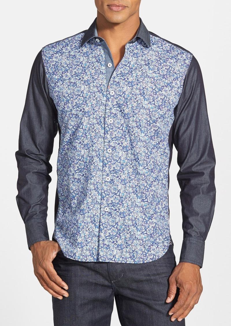 Sale robert graham robert graham print tailored fit sport for Robert graham sport shirt