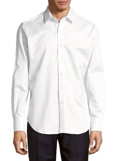 Robert Graham Bank Junction Classic-Fit Cotton Casual Button Down Shirt