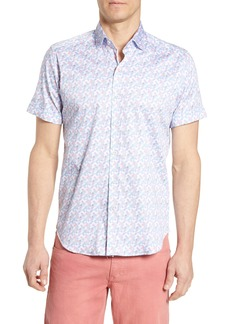 Robert Graham Tailored Fit Banner Sport Shirt