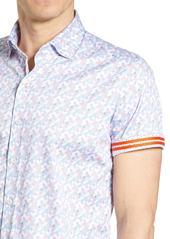 Robert Graham Tailored Fit Banner Sport Shirt