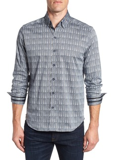 Robert Graham Banyan Tailored Fit Print Sport Shirt