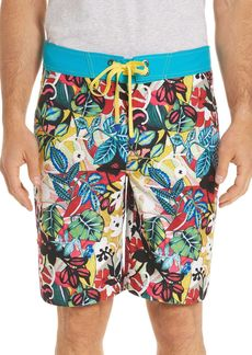 Robert Graham Barbarito Floral Board Shorts