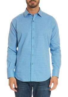 Robert Graham Baron Box-Print Sport Shirt