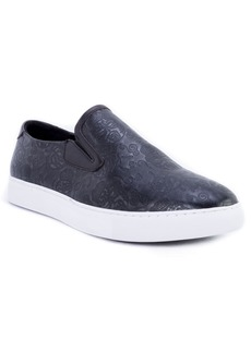 Robert Graham Baxter Embossed Slip-On Sneaker (Men)