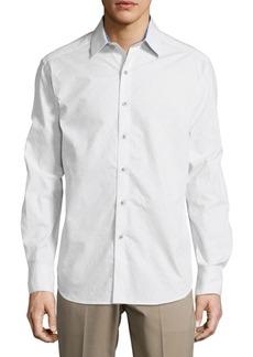 Robert Graham Bayside Casual Long-Sleeve Cotton Shirt