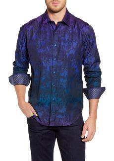Robert Graham Beat Street Regular Fit Button-Up Shirt