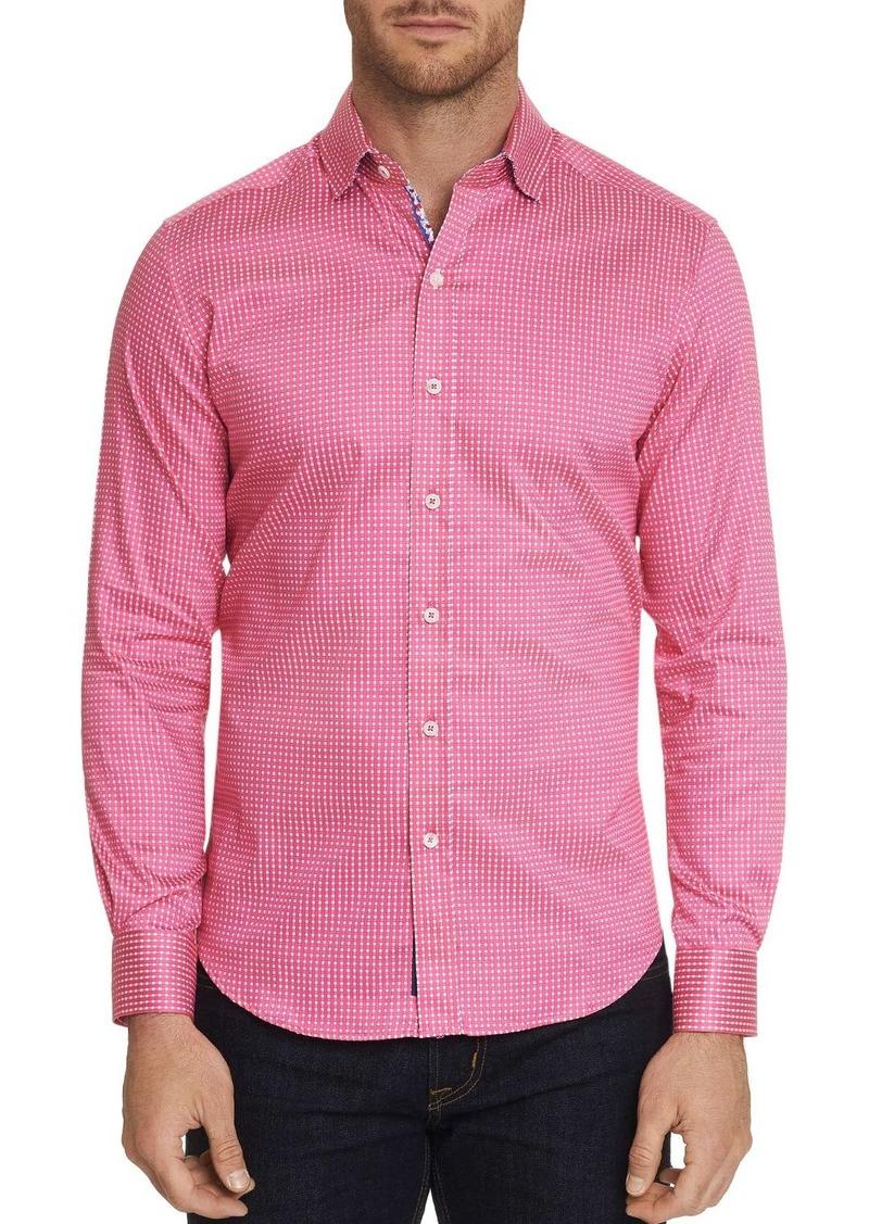 Robert Graham Belden Woven-Pattern Classic Fit Shirt