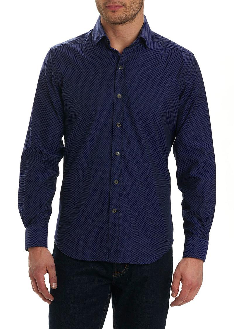 Robert graham robert graham bernard print sport shirt for Robert graham sport shirt