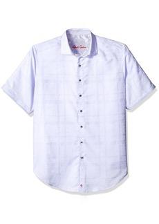 Robert Graham Big Men's Woven Long Sleeve Sport Shirt