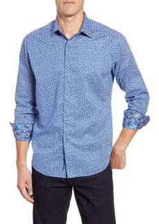 Robert Graham Boulevard Classic Fit Button-Up Sport Shirt