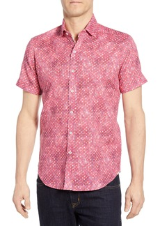 Robert Graham Boyer Tailored Fit Sport Shirt