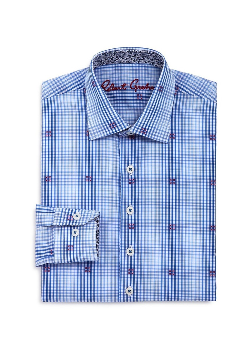 Robert Graham Boys' Altham Plaid Dress Shirt - Big Kid