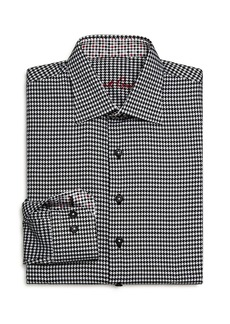 Robert Graham Boys' Bessemer Houndstooth Dress Shirt - Big Kid