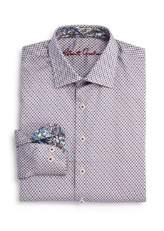 Robert Graham Boys' Jonesboro Dot Printed Shirt - Big Kid
