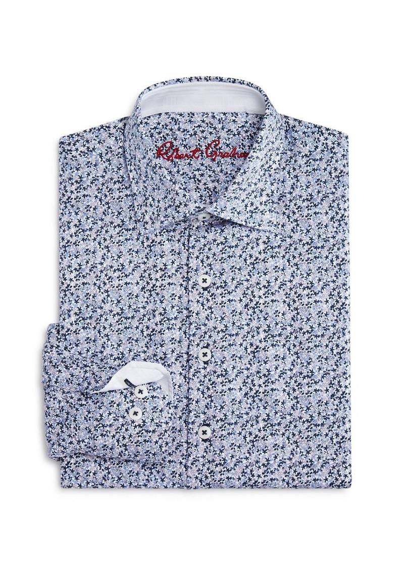 Robert Graham Boys' Nibley Floral Dress Shirt - Big Kid